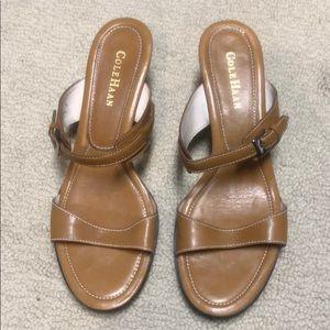 Vintage Cole Haan Kitten Heel Sandals